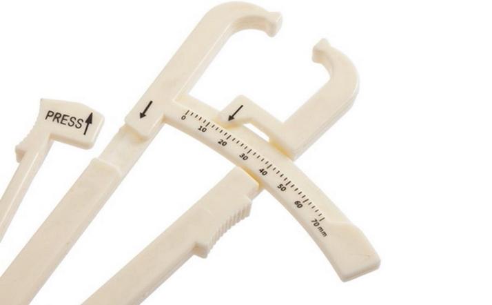 vetpercentage meten huidplooimeter